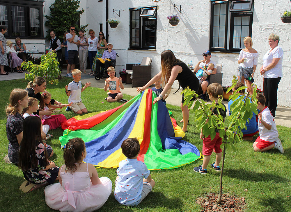 Events for all, with a great garden to hold them in